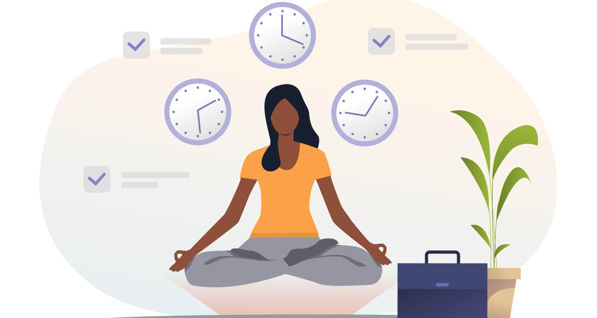 Your morning meditation should include thoughts and thinking