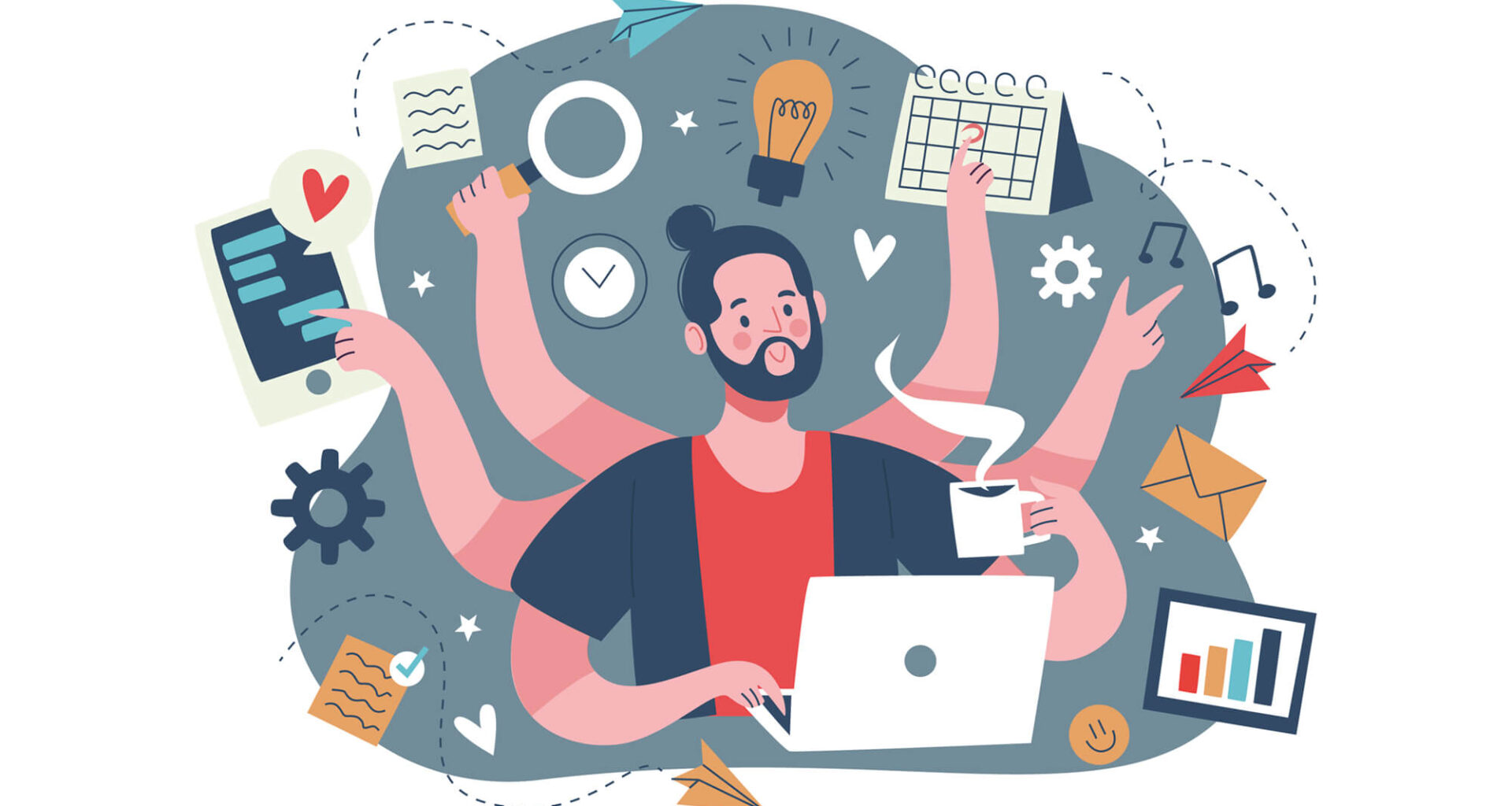 Improve productivity when working from home: 5 great tips