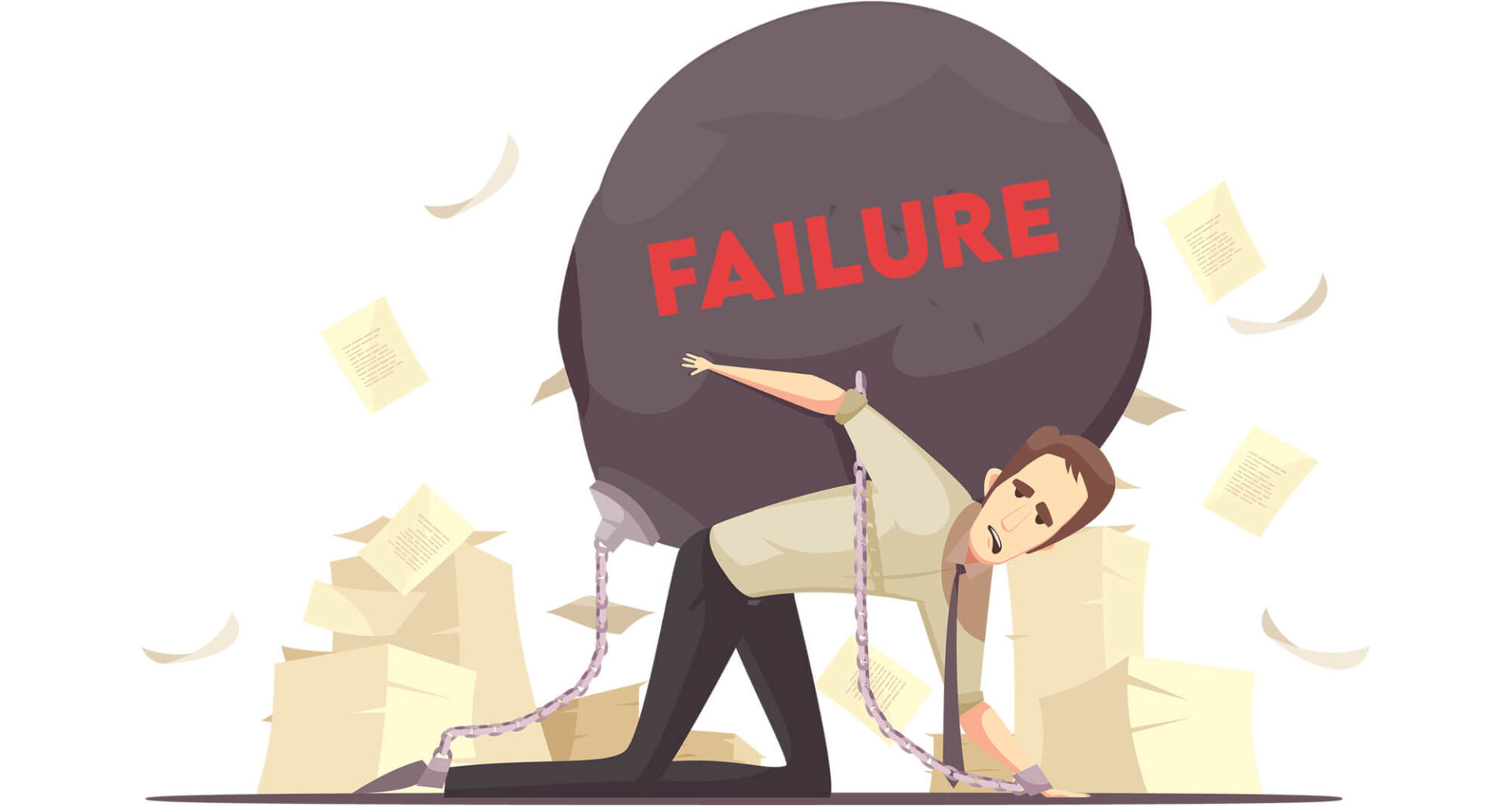 What does optimism mean when dealing with failure?